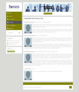 Benass Consulting Limited
