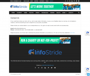 The InfoStride
