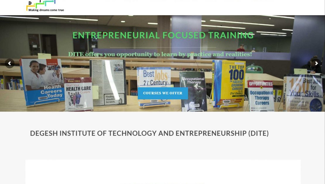 DeGesh Institute of Technology and Entrepreneurship (DITE)
