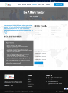 Lagostar Website DIstributor Page