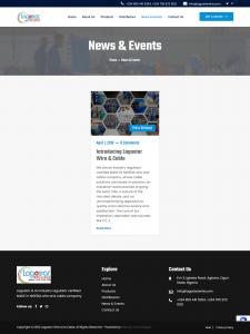 Lagostar Website News Page