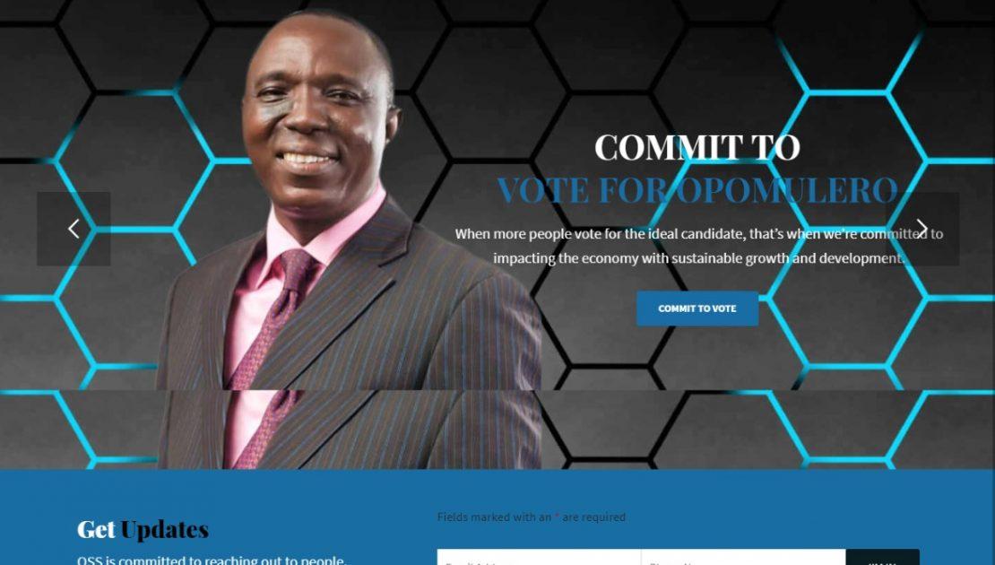 Omooba Sunday Solarin, FCA (Opomulero) Official Website